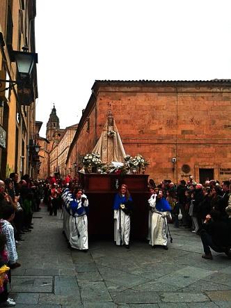 La Virgen Maria plaza de la Augustinas