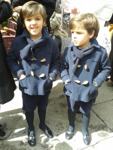 Aww I want the same! Best dressed little boys in the world!