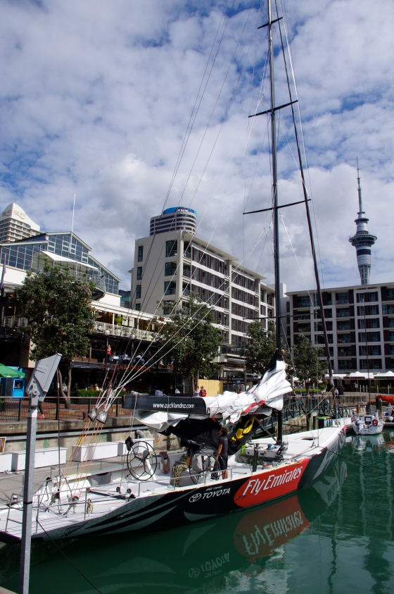 Auckland's harbour
