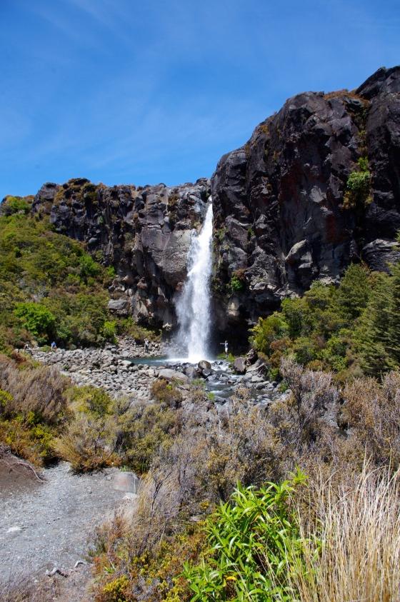 The Taranaki falls