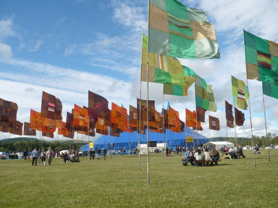 T in the park, Scotland
